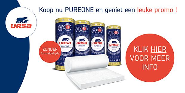 Ontdek de nieuwe URSA Pure one en geniet nu van een leuke korting!